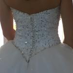 Retouche robe de mariée