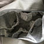 Interieur sac à langer