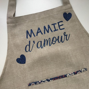 Tablier Mamie d'amour